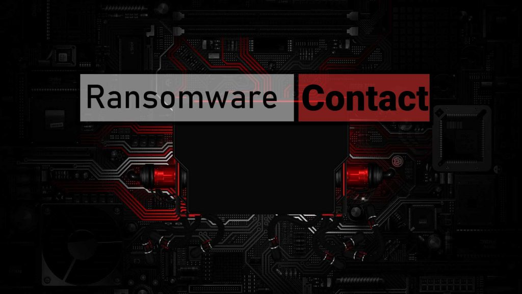 Contact Ransomware