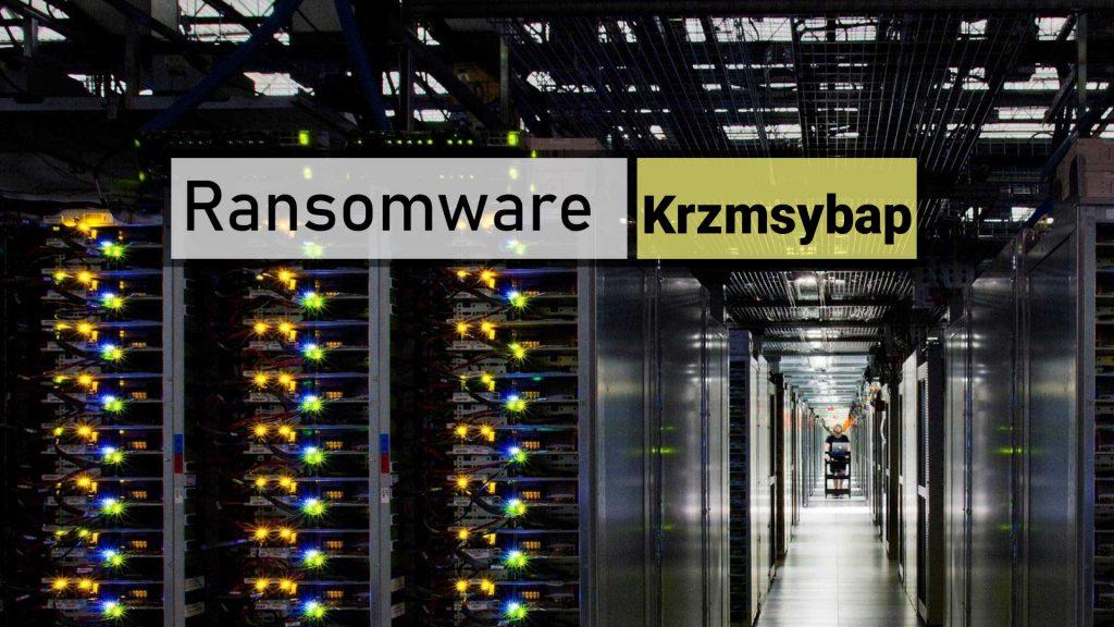Krzmsybap ransomware
